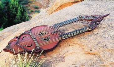 William Eaton's harp guitar
